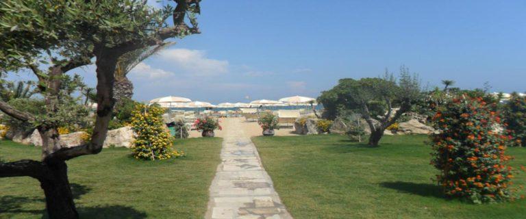Giardino Natura Stabilimento Balneare Spiaggia La bussola Circeo