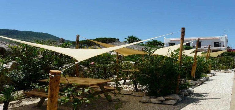 Panchina Area Ristoro Area Ristoro Giardino Natura Stabilimento Balneare Spiaggia La bussola Circeo