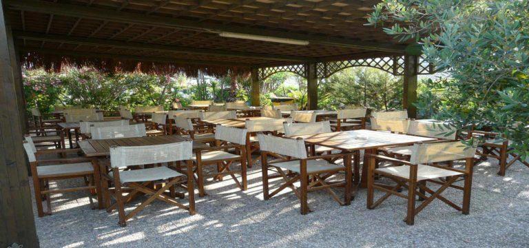 Area Ristoro Stabilimento Balneare Spiaggia La bussola Circeo